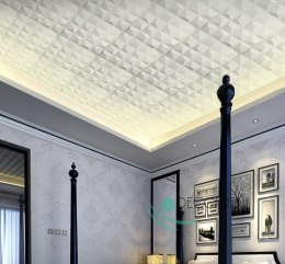 CRYSTAL - Styrofoam Ceiling Tiles 3D