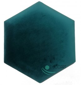 Upholstered Satin Panels Hexagon 2220