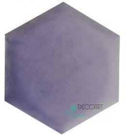 Upholstered Satin Panels Hexagon 2248